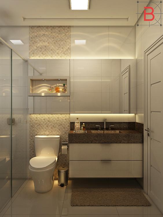 Dicas Banheiros Pequenos, Blog Biaggioni Arquitetura -> Banheiro Pequeno Projetado
